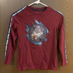 Boys Avengers long sleeve shirt